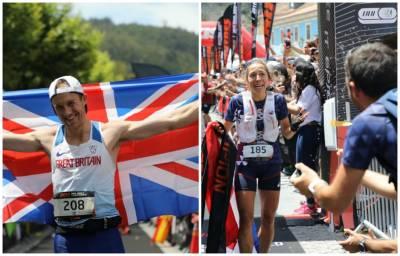 O Jonathan Albon και η Blandine L'Hirondel παγκόσμιοι πρωταθλητές IAU-ITRA στην Πορτογαλία!